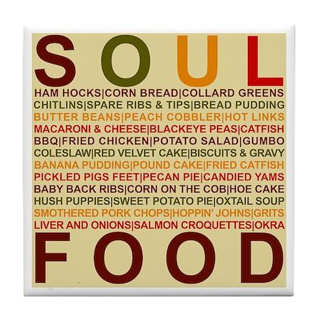 Soul Food Tile Coaster