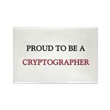Proud to be a Cryptographer Rectangle Magnet
