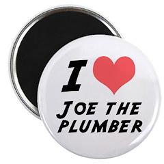 """I Heart Joe the Plumber 2.25"""" Magnet (10 pack)"""