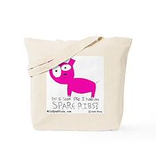 Wild Eyed Pixie - SpareRibs Tote Bag