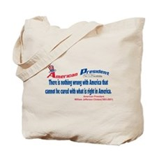 Nothing Wrong With America Tote Bag