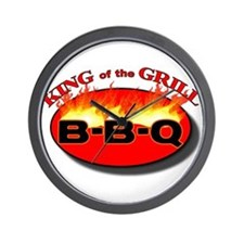 BBQ King Wall Clock