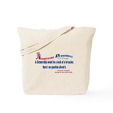 Dictatorship Would Be Easier Tote Bag