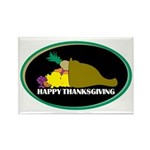 Thanksgiving Day Rectangle Magnet