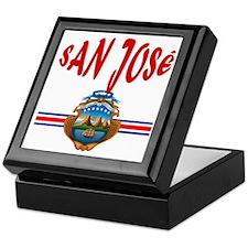 San Jose Keepsake Box