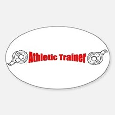Athletic Trainer Oval Decal