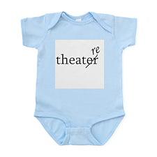 "Theatre Spelled ""re"" Infant Bodysuit"