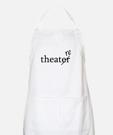 "Theatre Spelled ""re"" BBQ Apron"