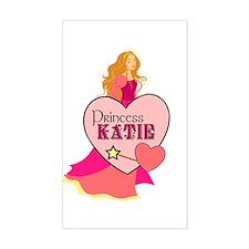 Princess Katie Rectangle Decal