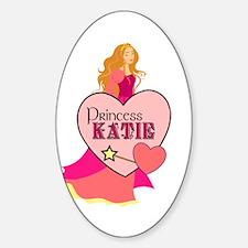 Princess Katie Oval Decal