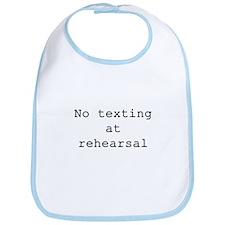 No Texting Bib
