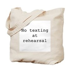 No Texting Tote Bag