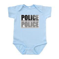 FRONT/BACK POLICE Infant Bodysuit