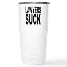 Lawyers Suck Travel Coffee Mug