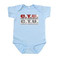 CTU FRONT/BACK Infant Bodysuit