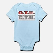 CTU FRONT/BACK Infant Bodysuit