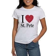 I Love St. Pete Women's T-Shirt