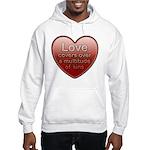 Love Covers Sins Hooded Sweatshirt
