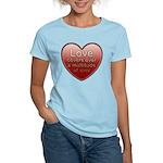 Love Covers Sins Women's Light T-Shirt