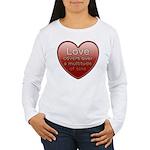 Love Covers Sins Women's Long Sleeve T-Shirt