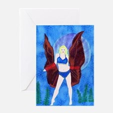Isis Belly Dancer Greeting Card
