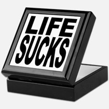 Life Sucks Keepsake Box