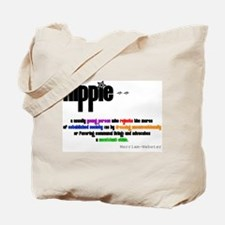 Hippie Defined Tote Bag