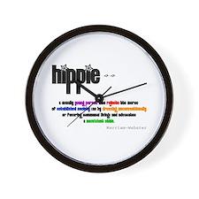 Hippie Defined Wall Clock