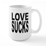 Love Sucks Large Mug