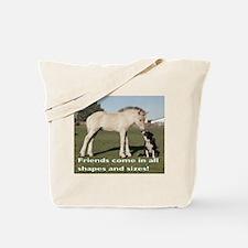 Fjord Horse Friends Tote Bag