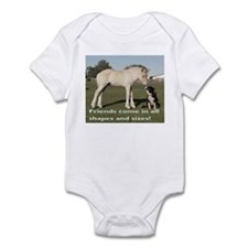 Fjord Horse Friends Infant Creeper