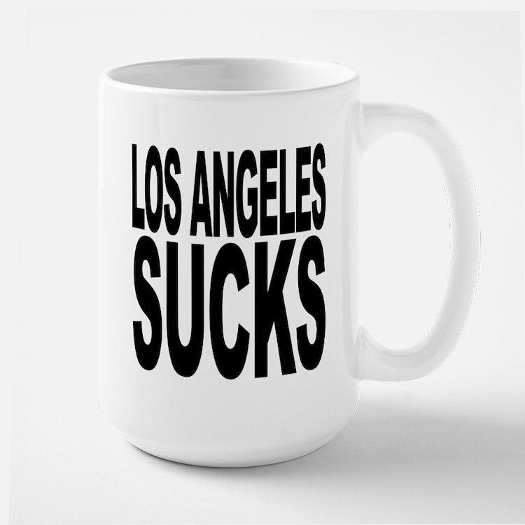 Los Angeles Sucks Large Mug