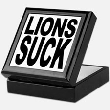 Lions Suck Keepsake Box