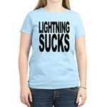Lightning Sucks Women's Light T-Shirt