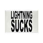 Lightning Sucks Rectangle Magnet
