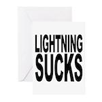 Lightning Sucks Greeting Cards (Pk of 10)