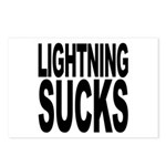 Lightning Sucks Postcards (Package of 8)