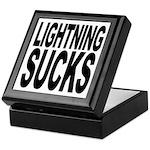 Lightning Sucks Keepsake Box