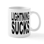 Lightning Sucks Mug
