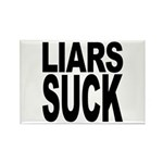 Liars Suck Rectangle Magnet