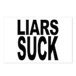 Liars Suck Postcards (Package of 8)