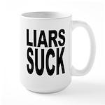 Liars Suck Large Mug