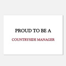 Proud to be a Countryside Manager Postcards (Packa