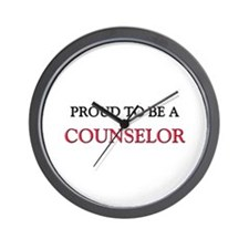Proud to be a Counselor Wall Clock