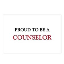 Proud to be a Counselor Postcards (Package of 8)