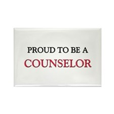 Proud to be a Counselor Rectangle Magnet