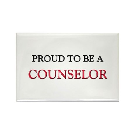 Proud to be a Counselor Rectangle Magnet (10 pack)