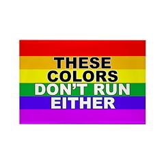 These Colors Don't Run bumper sticker