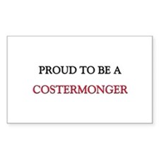 Proud to be a Costermonger Rectangle Sticker