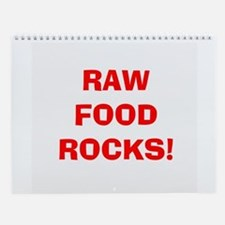 2006 RAW FOOD ROCKS Wall Calendar